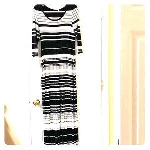 Calvin Klein cotton Maxi dress